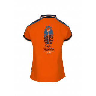 POLO CAPE TRIBULATION ORANGE